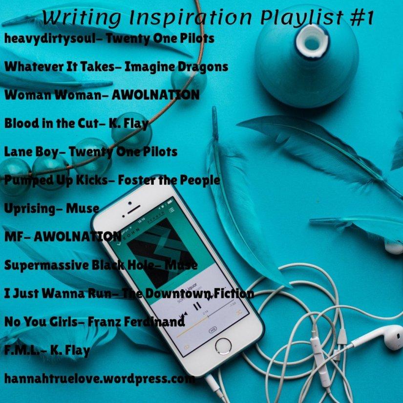 Writing Inspiration Playlist
