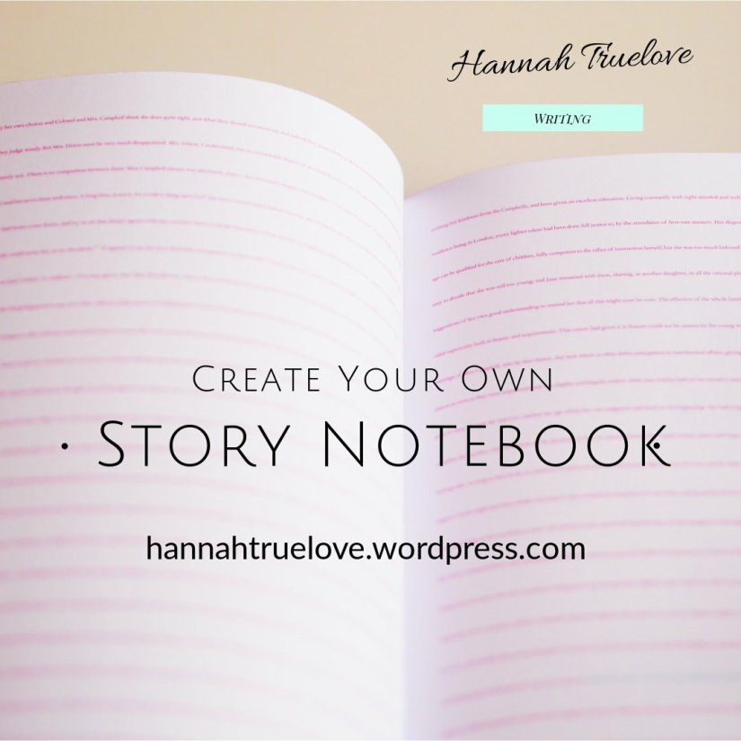 Create your own Story Notebook