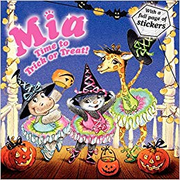 10 Adorable Halloween Picture Books: Mia: Time to Trick or Treat!