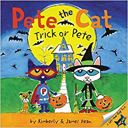 10 Adorable Halloween Picture Books: Pete the Cat: Trick or Pete